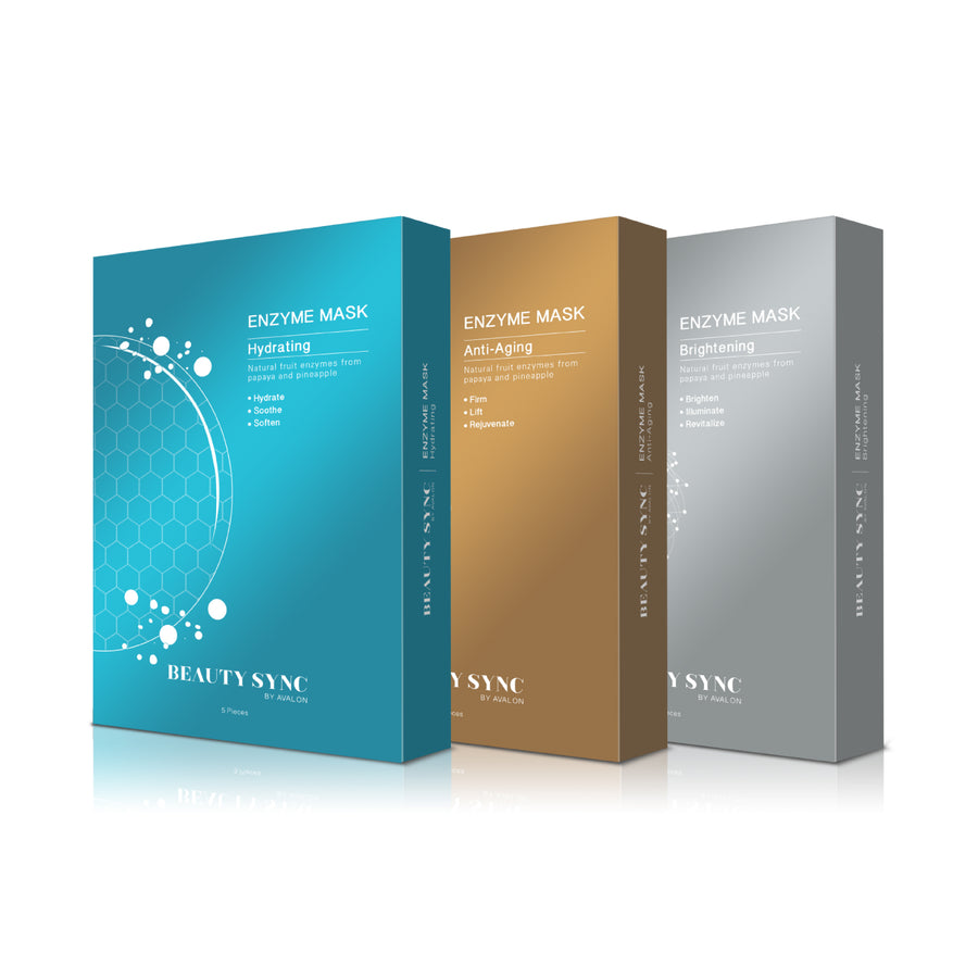 AVALON® BEAUTY SYNC ENZYME MASKS