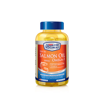 US Clinicals® Deep Sea Salmon Fish Oil
