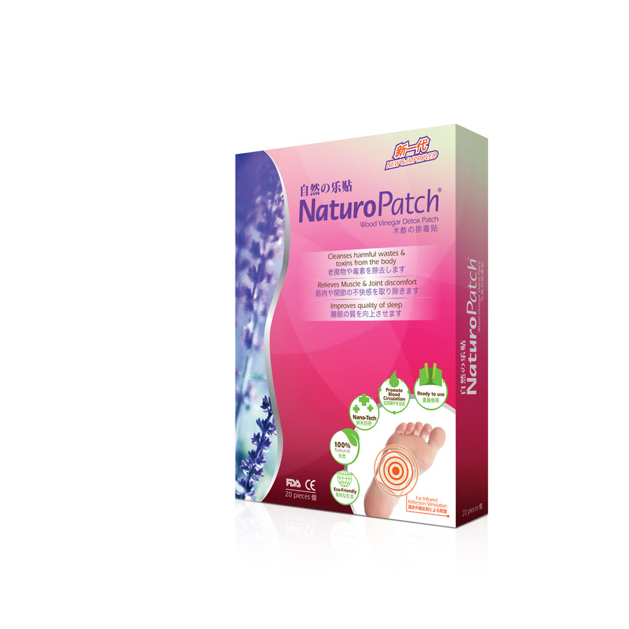 NaturoPatch® Wood Vinegar Detox Patch