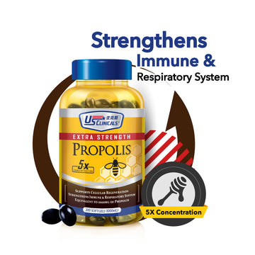 US Clinicals® Extra Strength Propolis