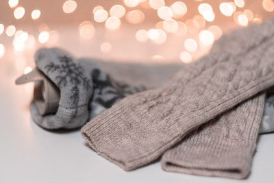 hot waterbottle and socks