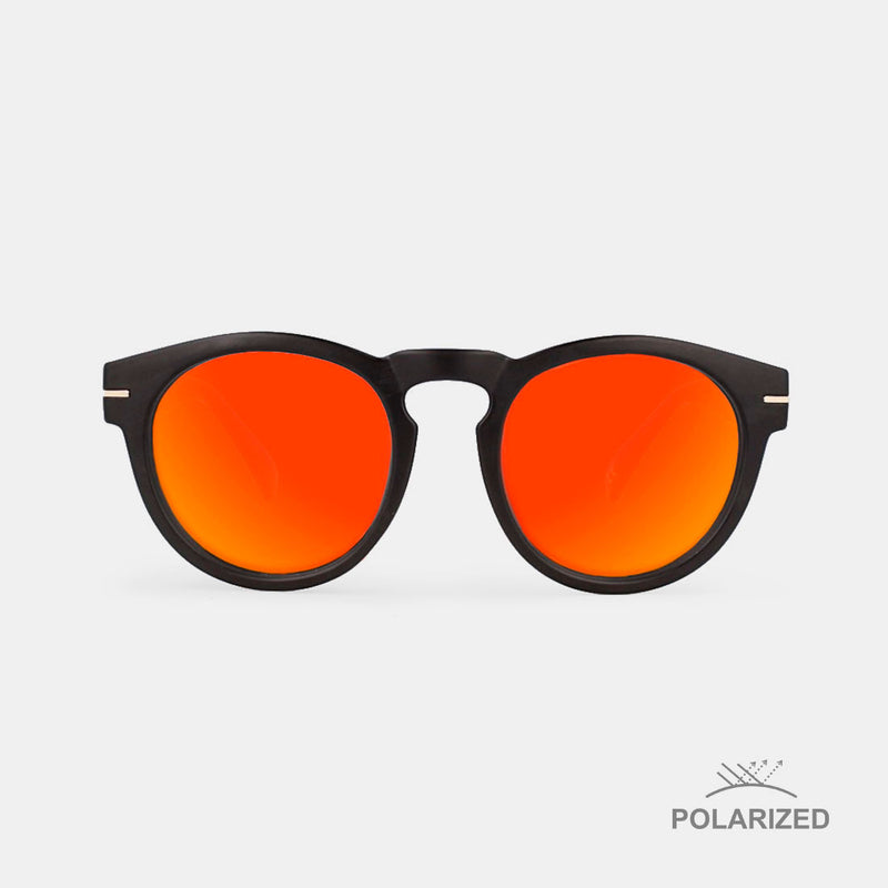 Rem Black / Red Polarized