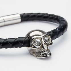 Skull Ink Silver Diamond