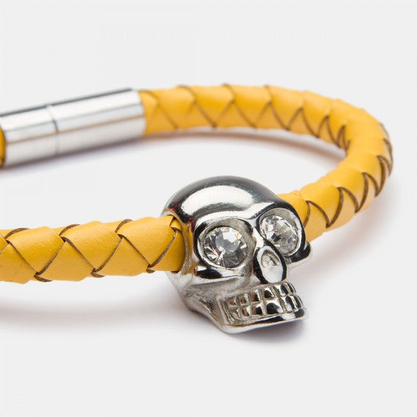 Skull Corn Silver Diamond
