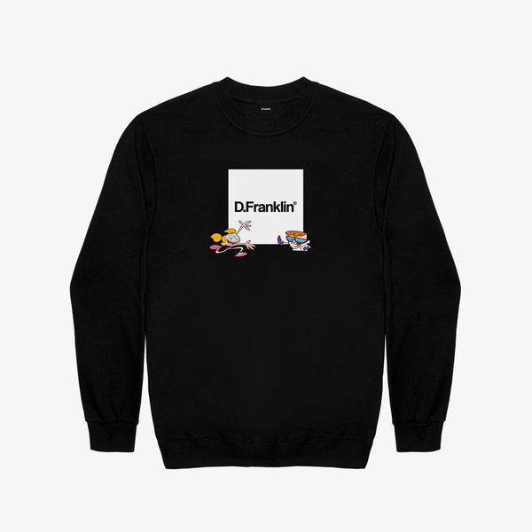 Sweatshirt Dexter Lab Black