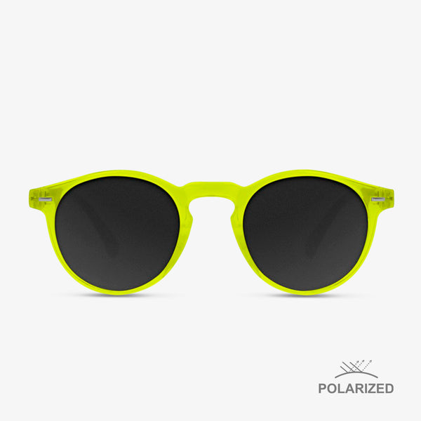 Ultra Light Gold Day-Glo / Black Polarized