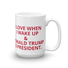 Load image into Gallery viewer, Trump Is President Mug