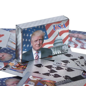 Donald J. Trump Presidential Playing Cards