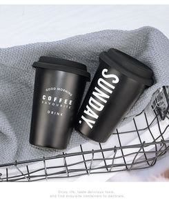 "Stainless Steel ""To Go"" Cup"