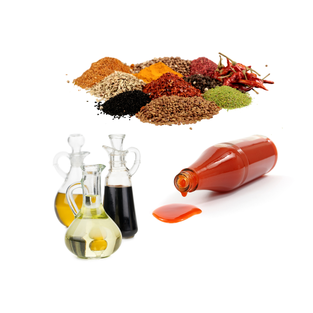 Sauces, Oils & Spices