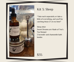 Kit 3 - Sleep - Niagara Medicinal Herbs