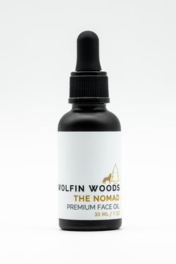 The Nomad By Wolfin Woods: Premium Face Oil