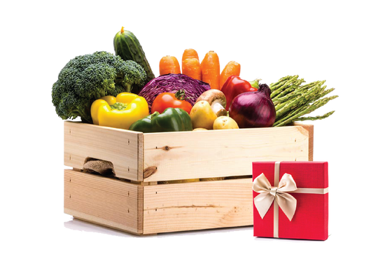 Medium + Produce Box