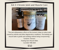 Kit 2 - Chronic Joint and Muscle Care - Niagara Medicinal Herbs