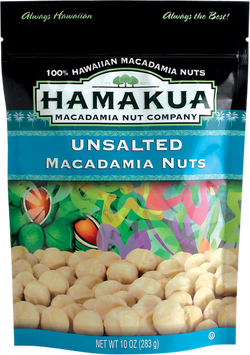 Unsalted Macadamia Nuts-Natural