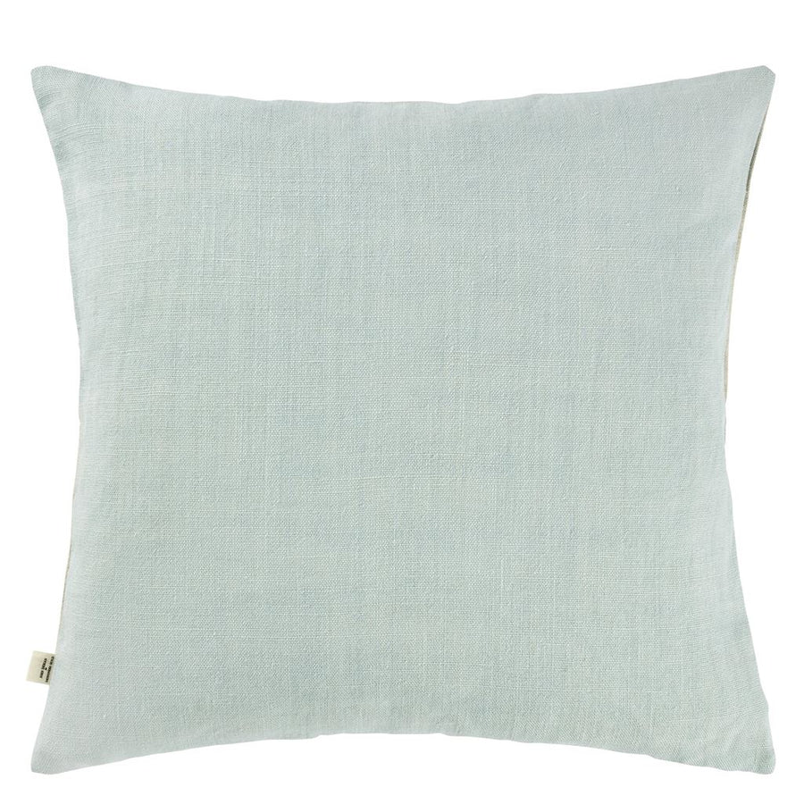 Mixed Tones Cobalt Cushion