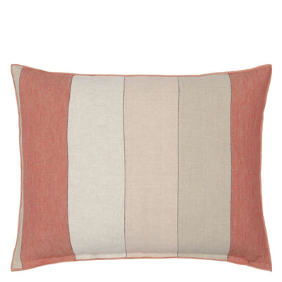 Brera Gessato Coral Cushion