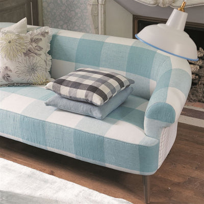 Designers Guild Essentials Brera Quadretto - Teal