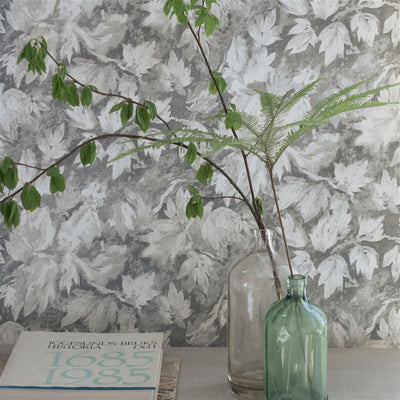 Designers Guild Fresco Leaf - Graphite