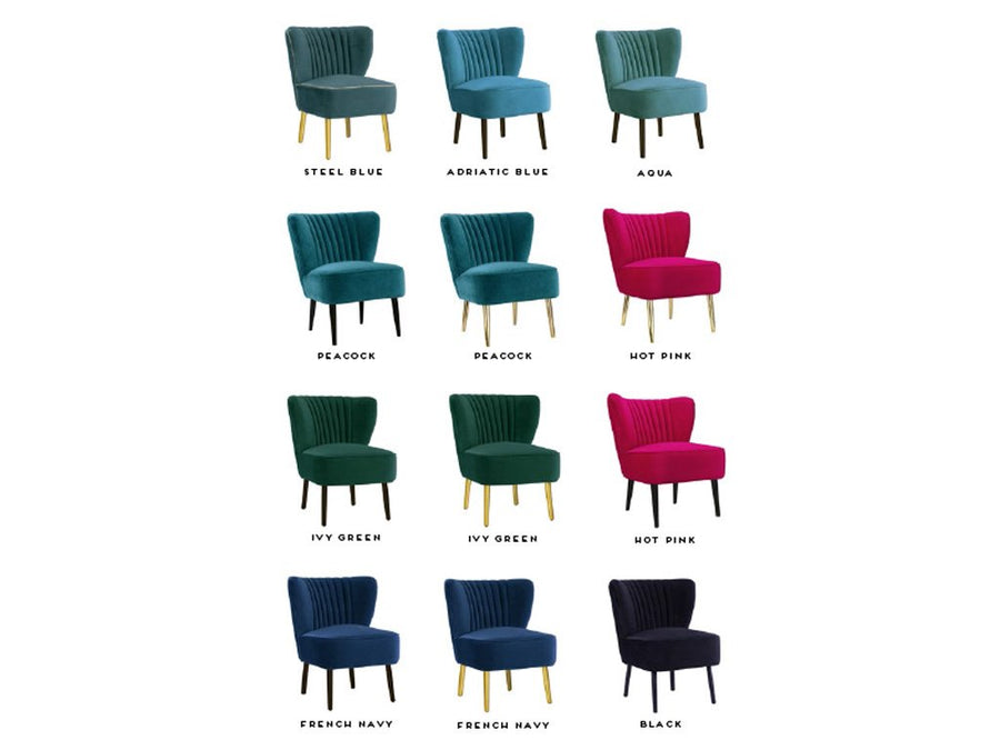 Matilda Chair in numerous colour options