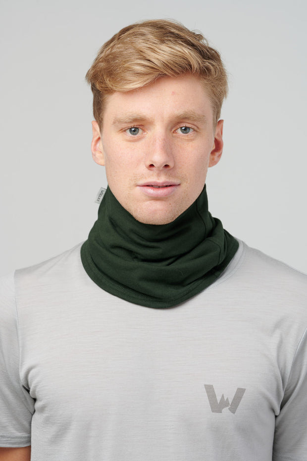 Turtleneck Tube, Unisex - Hunter Green