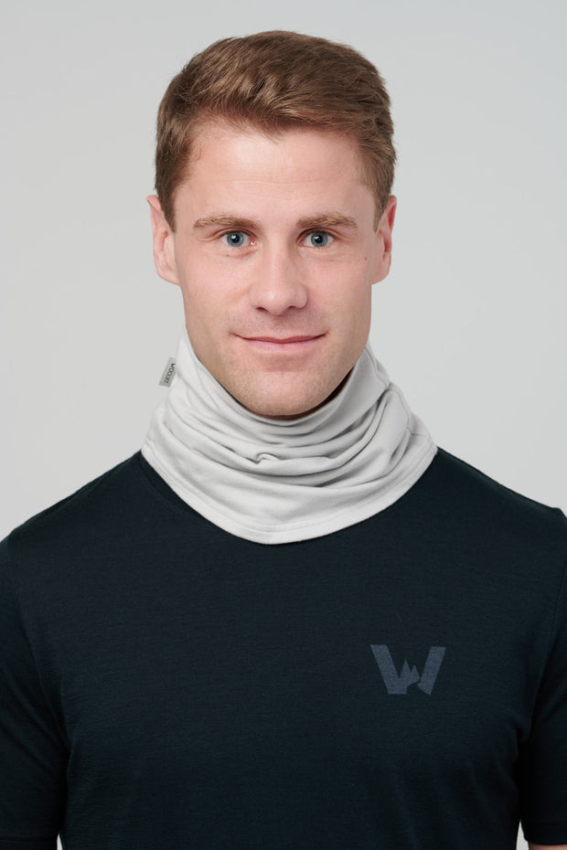 Turtleneck Tube, Unisex - Limestone Grey