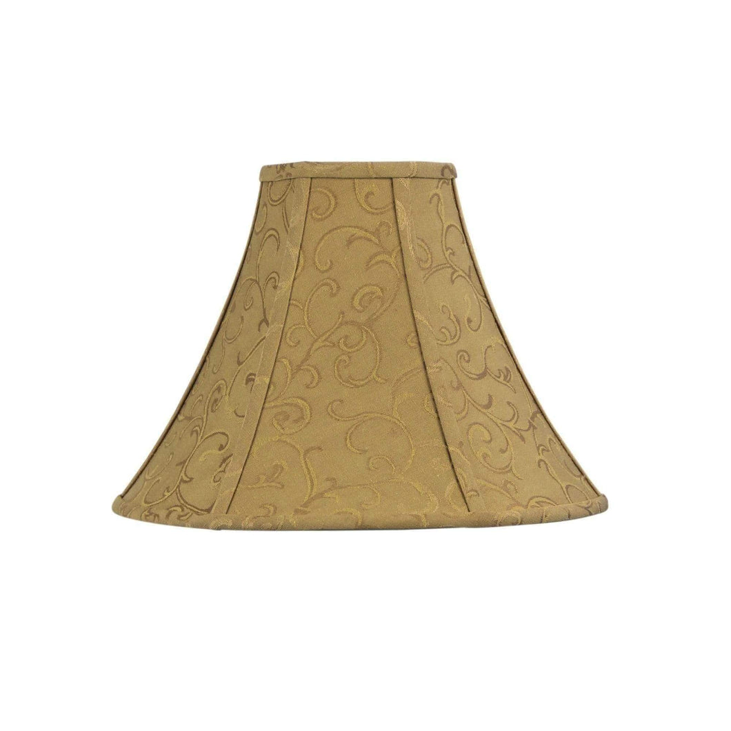 Empire Lamp Shade Old Gold - GUS LIVING LIFE CHANDELIERS AND LIGHTING