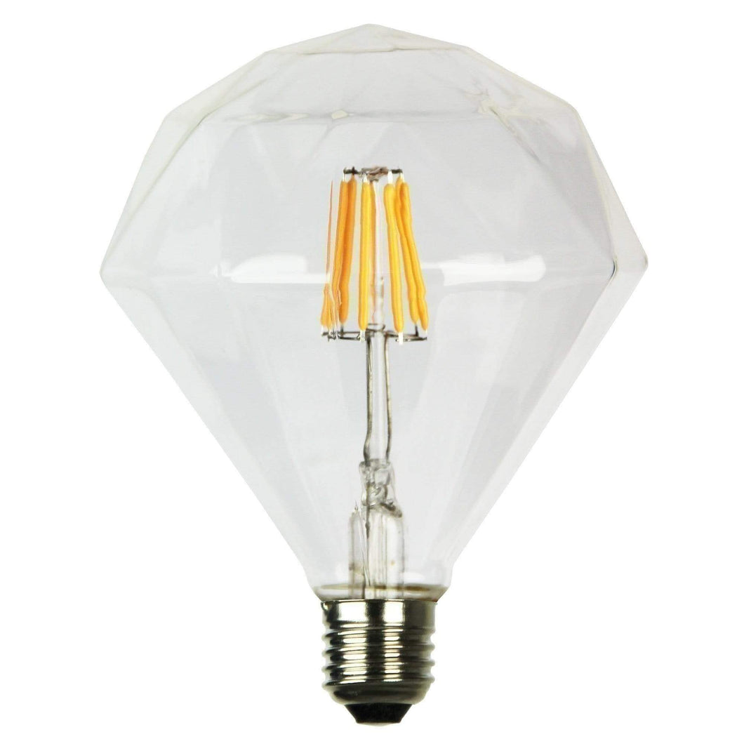 Decor Diamond Led Light Bulb - GUS LIVING LIFE CHANDELIERS AND LIGHTING