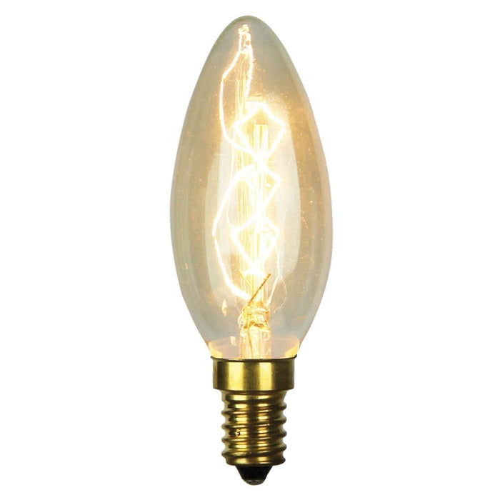 VINTAGE C35 CANDLE E14  25w E14 Candle Filament - GUS LIVING LIFE CHANDELIERS AND LIGHTING