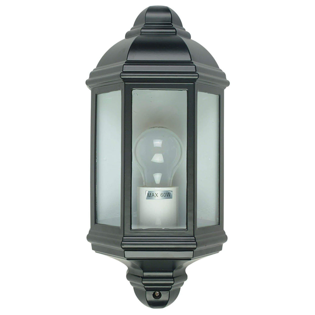 FENCHURCH traditional outdoor wall light Black - GUS LIVING LIFE CHANDELIERS AND LIGHTING