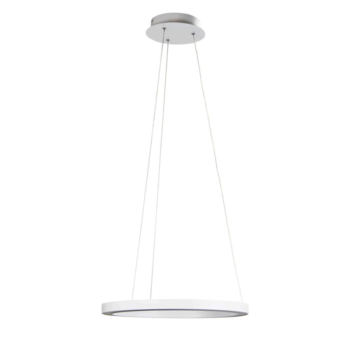 Nebula 400 LED white or black Modern Halo Pendant - GUS LIVING LIFE CHANDELIERS AND LIGHTING