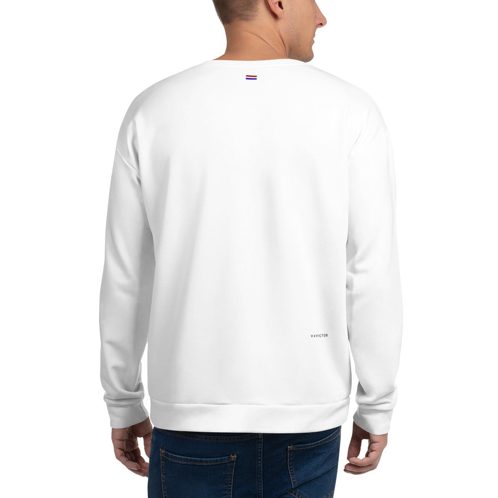 Loose-fit Sweatshirt for Men- V4V Print