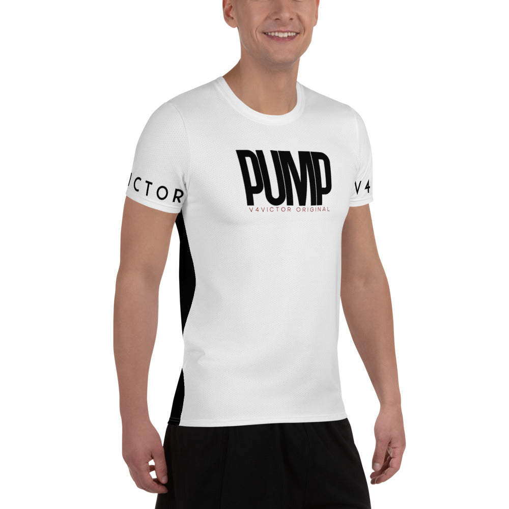 Anti-microbial Men's Athletic T-shirt - Pump