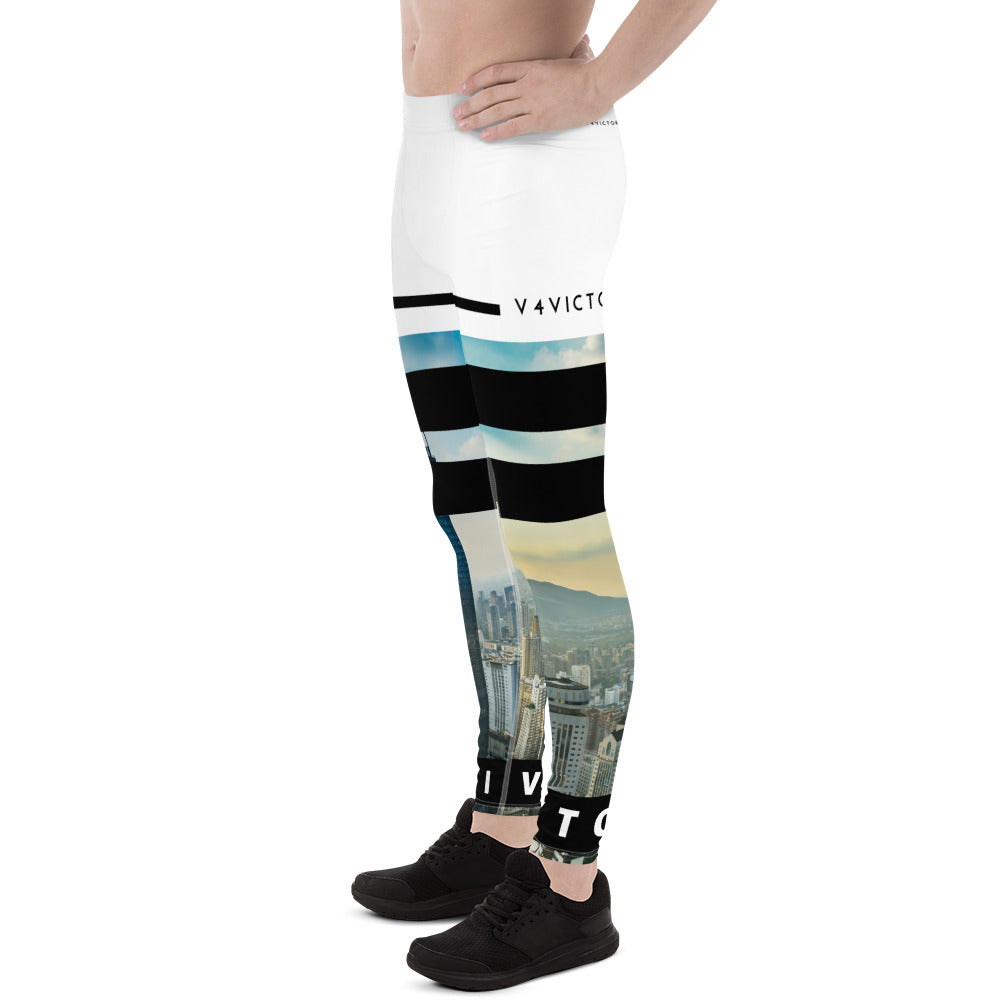 Men's Leggings City Skyline