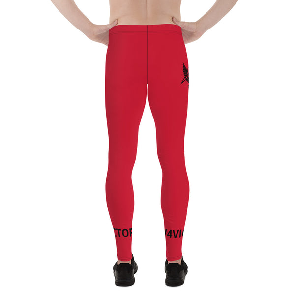 Men's Leggings Red