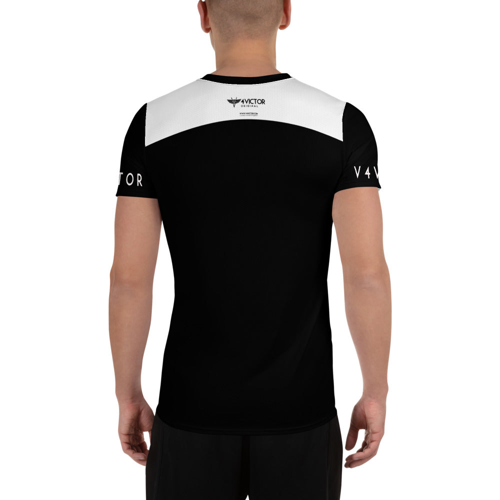 Anti-microbial Men's Athletic T-shirt - Urban City