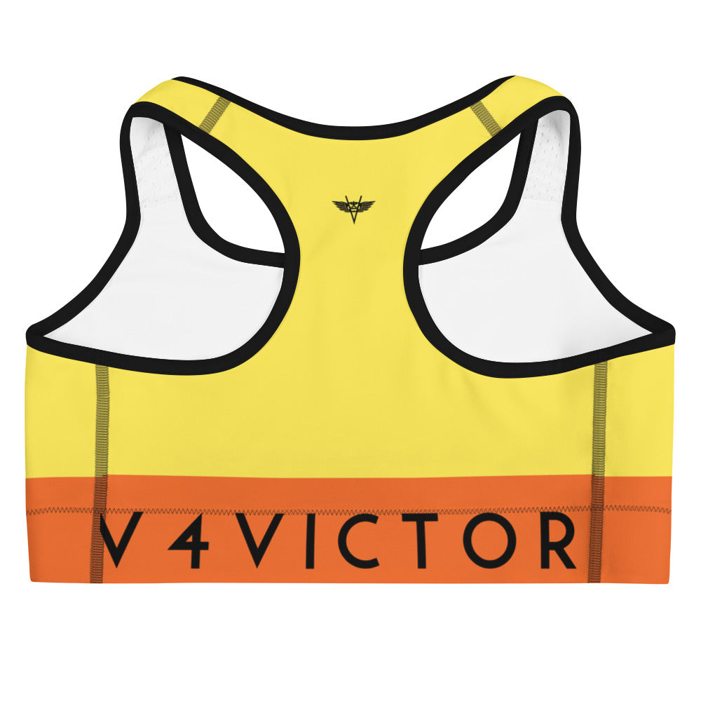 Sports bra - Yellow
