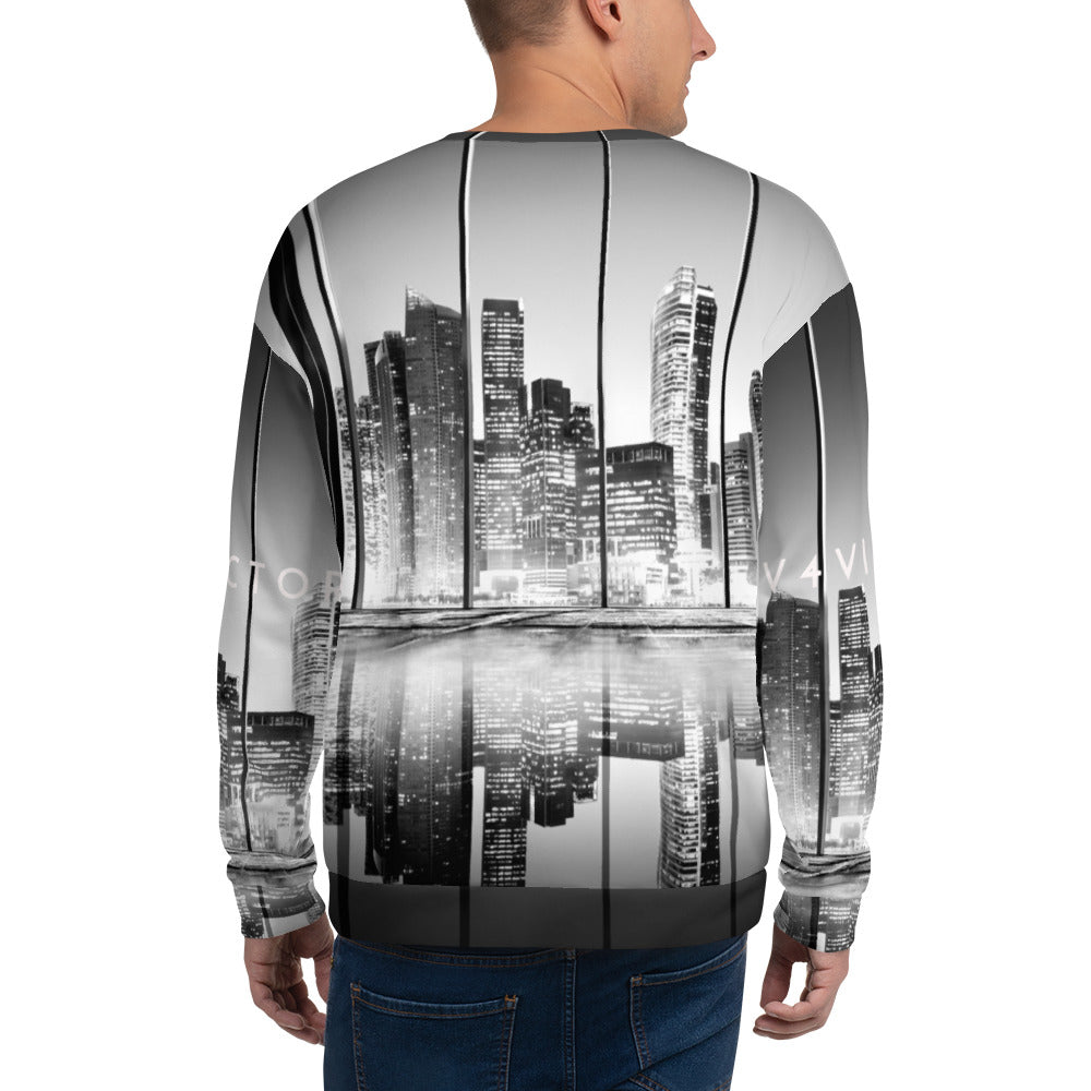 Loose-fit Sweatshirt for Men- CITY