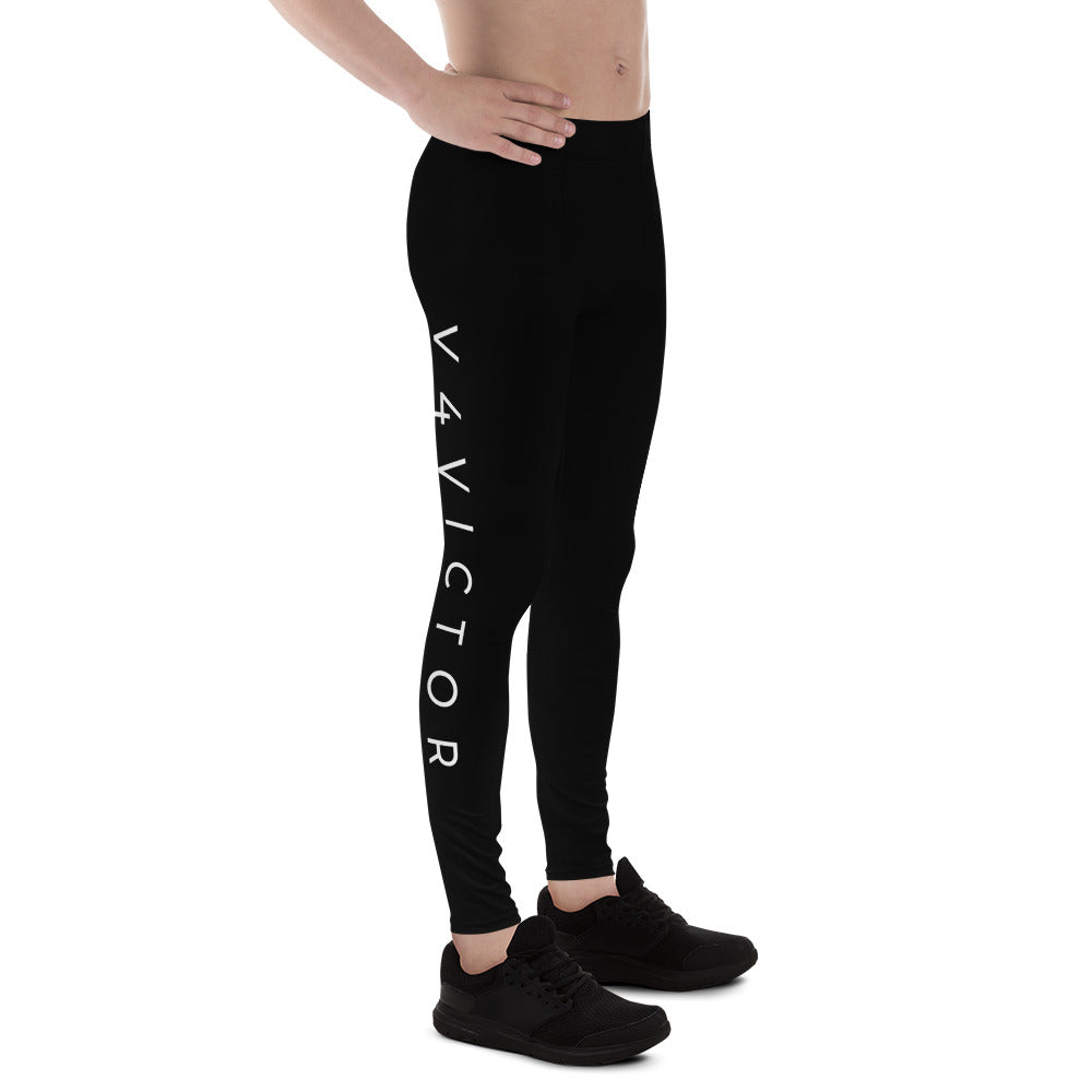 Men's Leggings in Black Smith