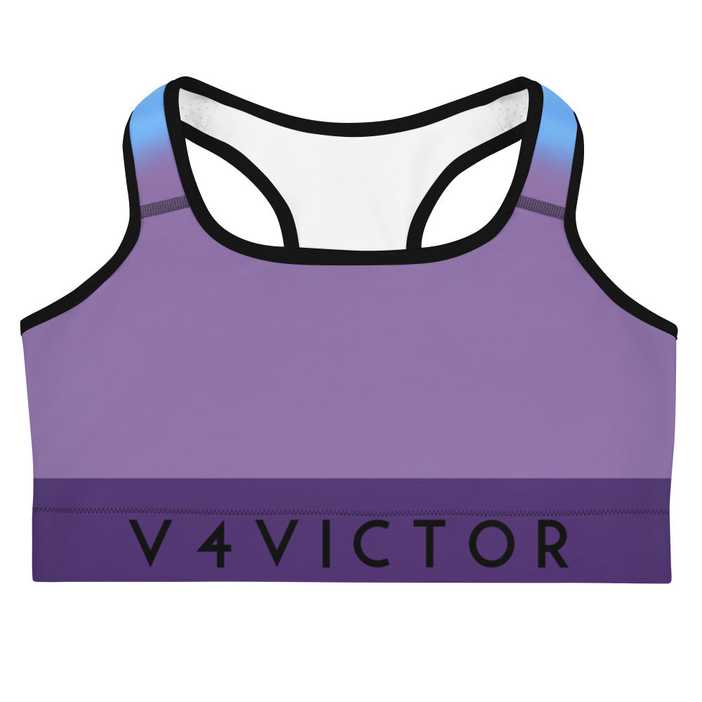 Sports bra- Purple