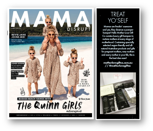 Mother Love Gift Co as featured in Mama Disrupt