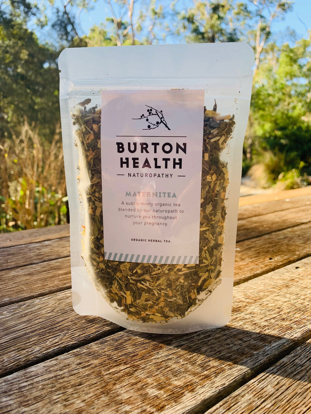Burton Health Organic Herbal Tea - 30 Serves