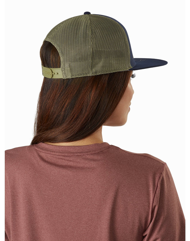 Bird Brim Flat Trucker