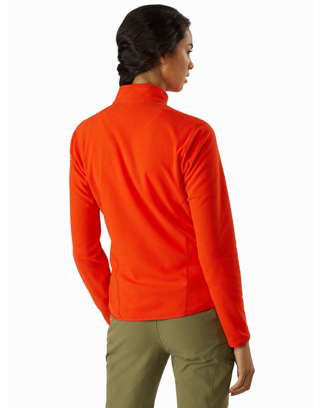 Delta LT Zip Neck Women's