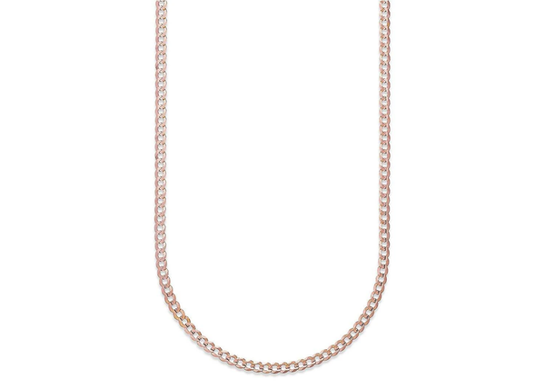 14K Gold 3.5MM Cuban/Curb Link Chain Necklace