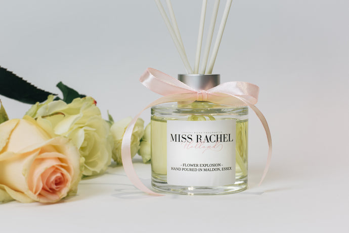 Flower Explosion Luxury Reed Diffuser