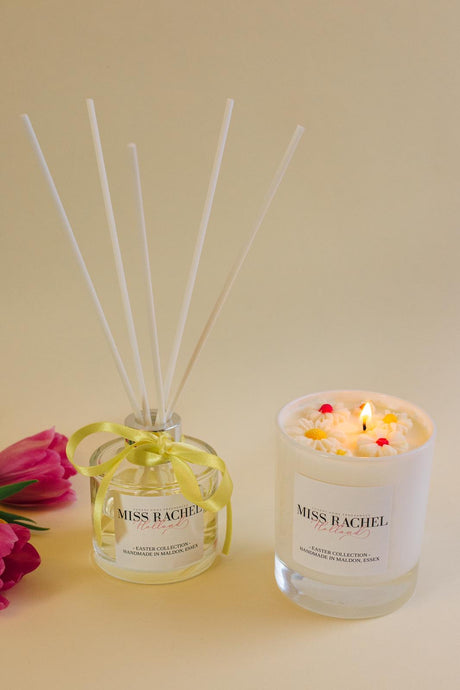 Easter Candle & Reed Diffuser Gift Basket