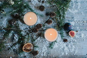 Luxury Christmas Scented Soy Candle