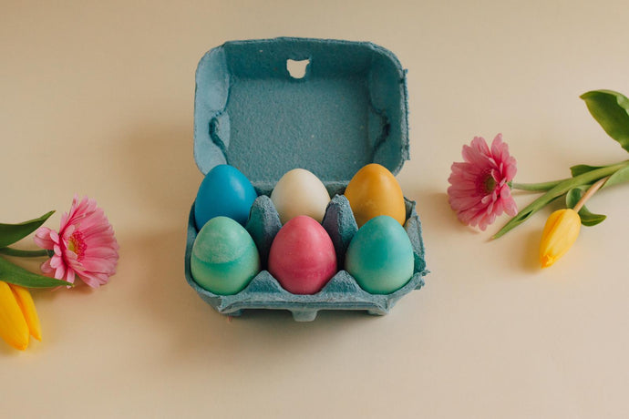 Easter Wax Melts Egg Box