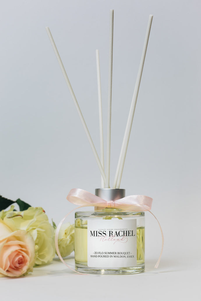 Zo Flo Summer Bouquet Luxury Reed Diffuser